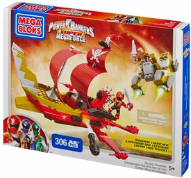 Power Rangers Mega Bloks Set #5646 Sky Ship Showdown New!