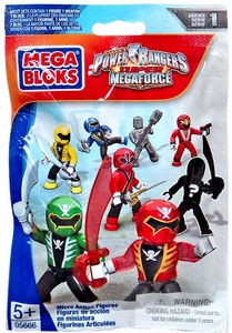 Power Rangers Megaforce Mega Bloks Series 1 Mystery Pack [1 RANDOM Mini FIgure]