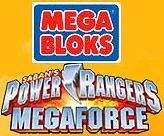 Power Rangers Megaforce Mega Bloks Set #5829 Red Ranger vs. Vrak Pre-Order ships October