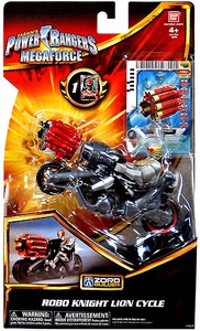 Power Rangers Megaforce Vehicle & Figure Robo Knight Lion Cycle
