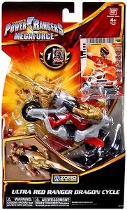 Power Rangers Megaforce Vehicle & Figure Ultra Red Cycle