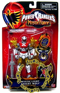 Power Rangers Mystic Force Action Figure Mystic Light Knight Wolf (Knight Edition)