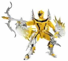 Power Rangers Mystic Force Dragon Morphin Action Figure Yellow Ranger to Thunder Dragon