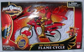 Power Rangers Mystic Force Flame Cycle with Red Ranger Action Figure BLOWOUT SALE!