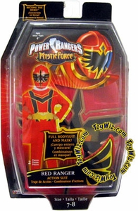 Power Rangers Mystic Force Red Ranger Action Suit with Mask Suit 7-8