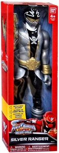 Power Rangers SUPER Megaforce 12 Inch Action Figure Silver Ranger New!