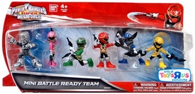 Power Rangers SUPER Megaforce 2 Inch Figure Set Mini Battle Ready Team