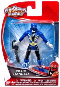 Power Rangers Super Megaforce 4 Inch Basic Action Figure Blue Ranger