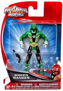 Power Rangers Super Megaforce 4 Inch Basic Action Figure Green Ranger