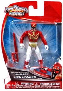 Power Rangers Super Megaforce 4 Inch Basic Action Figure Megaforce Red Ranger