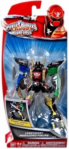 Power Rangers Super Megaforce 6 Inch Action Figure Legendary Megazord New!