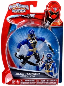 Power Rangers Super Megaforce Basic Action Figure Blue Ranger BLOWOUT SALE!