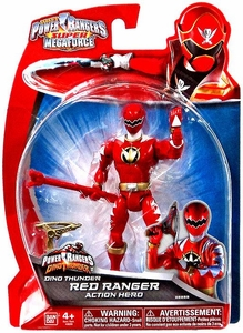 Power Rangers Super Megaforce Basic Action Figure Dino Thunder Red Ranger