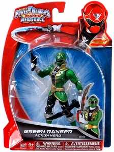 Power Rangers Super Megaforce Basic Action Figure Green Ranger New!