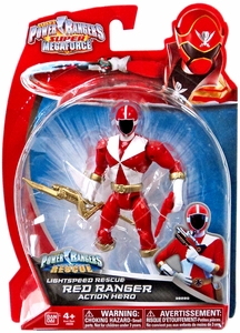 Power Rangers Super Megaforce Basic Action Figure Lightspeed Rescue New!