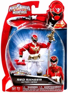 Power Rangers Super Megaforce Basic Action Figure Megaforce Red Ranger BLOWOUT SALE!