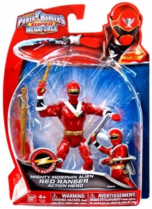 Power Rangers Super Megaforce Basic Action Figure Mighty Morphin Alien Red Ranger