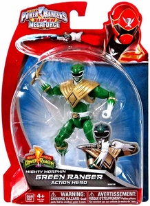 Power Rangers Super Megaforce Basic Action Figure Mighty Morphin Green Ranger