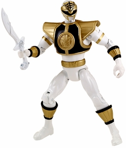 Power Rangers Super Megaforce Basic Action Figure Mighty Morphin White Ranger Pre-Order ships August