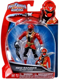 Power Rangers Super Megaforce Basic Action Figure Red Ranger Action Hero New!