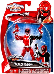 Power Rangers Super Megaforce Basic Action Figure S.P.D. Red Ranger
