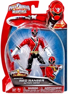 Power Rangers Super Megaforce Basic Action Figure Samurai Red Ranger