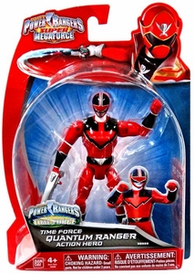Power Rangers SUPER Megaforce Basic Action Figure Time Force Quantum Ranger New!