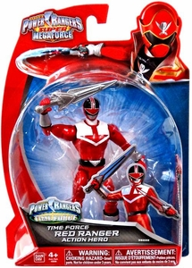 Power Rangers Super Megaforce Basic Action Figure Time Force Red Ranger