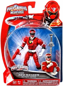 Power Rangers Super Megaforce Basic Action Figure Turbo Red Ranger