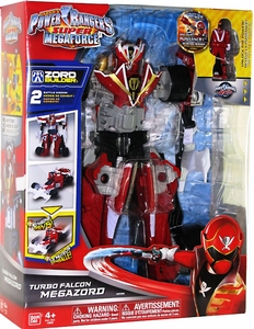 Power Rangers Super Megaforce Deluxe Action Figure Turbo Falcon Megazord New!