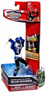 Power Rangers Super Megaforce Double Battle Action Figure Blue Ranger [Glow-in-the-Dark]