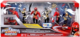 Power Rangers SUPER Megaforce Exclusive Action Figure 6-Pack Legendary Action Pack [Exclusive Battle Gear!] New!