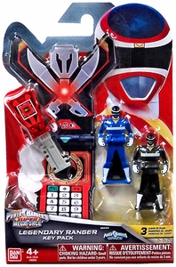 Power Rangers SUPER Megaforce Legendary Ranger Key Pack Space New!