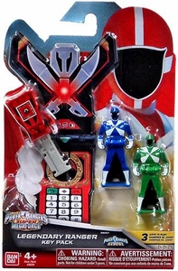 Power Rangers SUPER Megaforce Legendary Ranger Key Pack Lightspeed Rescue New!