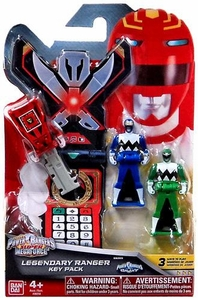 Power Rangers SUPER Megaforce Legendary Ranger Key Pack Lost Galaxy Pre-Order ships April