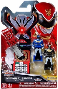 Power Rangers SUPER Megaforce Legendary Ranger Key Pack Megaforce New!