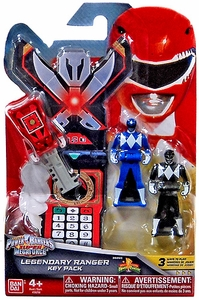 Power Rangers SUPER Megaforce Legendary Ranger Key Pack Mighty Morphin New Hot!