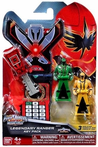 Power Rangers SUPER Megaforce Legendary Ranger Key Pack Mystic Force