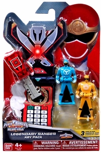 Power Rangers SUPER Megaforce Legendary Ranger Key Pack Ninja Storm New!