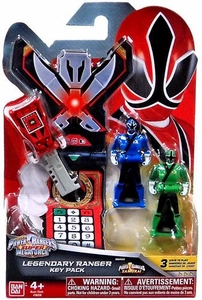 Power Rangers SUPER Megaforce Legendary Ranger Key Pack Samurai