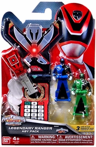 Power Rangers SUPER Megaforce Legendary Ranger Key Pack SPD New!