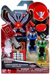 Power Rangers SUPER Megaforce Legendary Ranger Key Pack Super Megaforce Hot!
