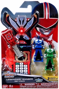 Power Rangers SUPER Megaforce Legendary Ranger Key Pack Time Force New!