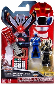 Power Rangers SUPER Megaforce Legendary Ranger Key Pack Wild Force
