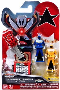 Power Rangers SUPER Megaforce Legendary Ranger Key Pack ZEO New Hot!