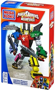 Power Rangers Super Megaforce Mega Bloks Set #5663 Legendary Megazord