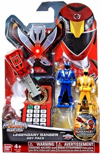 Power Rangers SUPER Megaforce Ranger Key Pack RPM New!