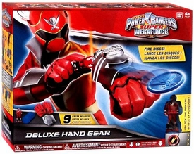 Power Rangers SUPER Megaforce Role Play Toy Deluxe Hand Gear New!