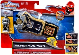 Power Rangers SUPER Megaforce Role Play Toy Silver Morpher Pre-Order ships November
