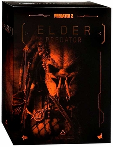 Predator 2 Hot Toys Movie Masterpiece 14 Inch Figure Elder Predator New!